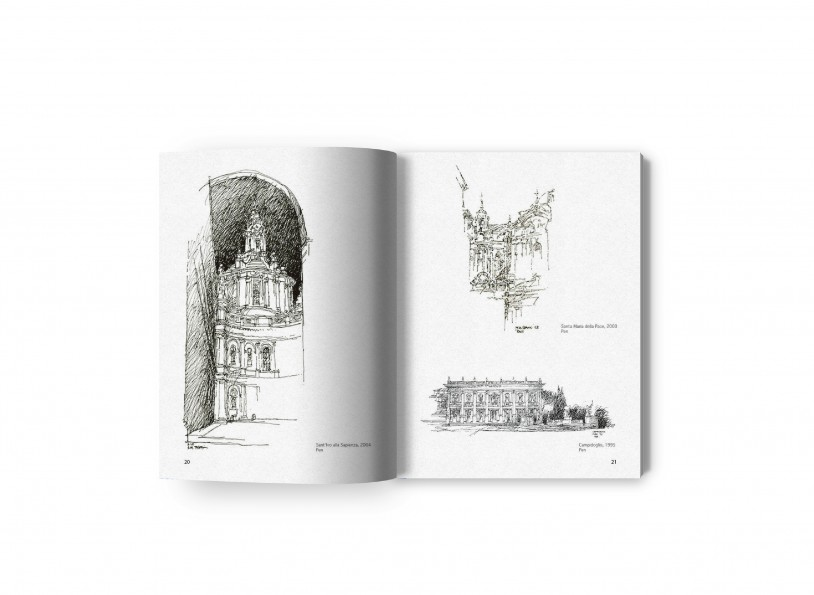 Coral Gables and Rome The Drawings of Thomas A. Spain 6
